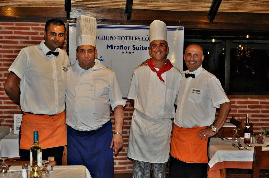 HL Hotel Rondo: Cocineros y camareros, ¡geniales!