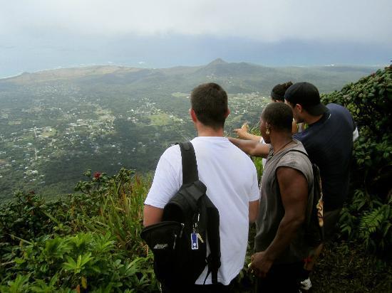 Nevis Peak, Nevis