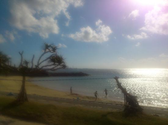 Okinawa Prefecture, Japonya: sunset beach(北谷町美浜区)