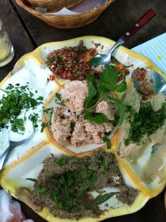 Arab da Lagoa: Mixed meze light