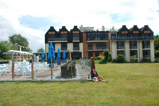 Faleza Hotel: od strony morza