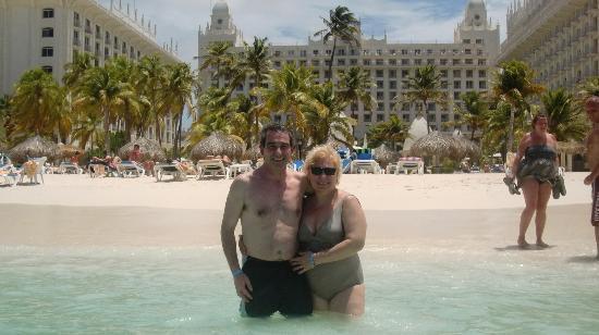 Hotel Riu Palace Aruba: Playa muy linda