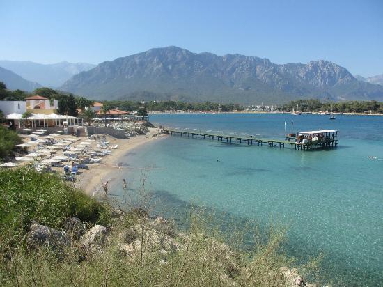 Club Med Kemer: La plage