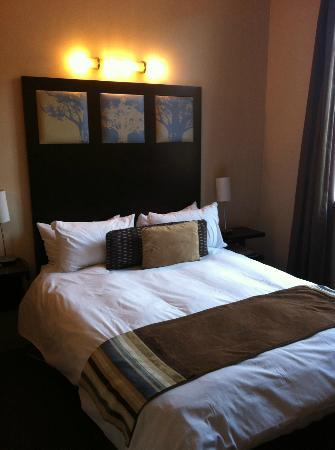 Faircity Mapungubwe Hotel Apartments : the bedroom
