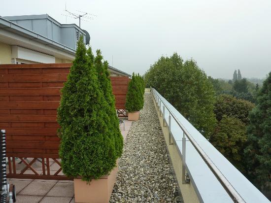 Clarion Hotel Hirschen: Dachterrasse