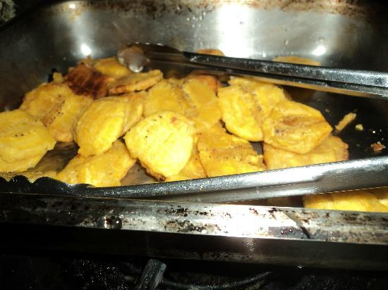 Mount Edge Guest House: Fried Green Plantain