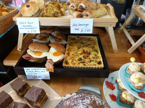 Waterfront.kitchen.cafe: Pies, quiche, savouries, more cakes...