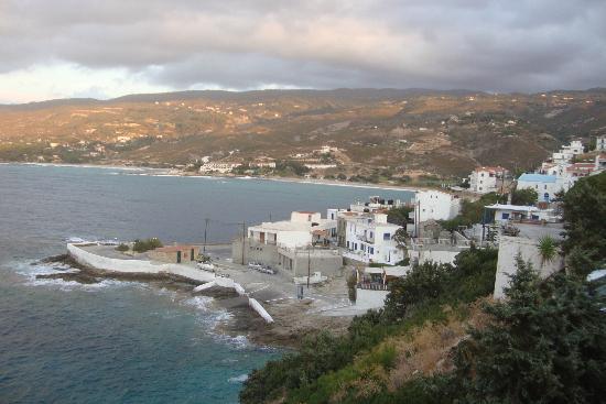 Hotel and Studios Cavos Bay : Blick auf Armenistis