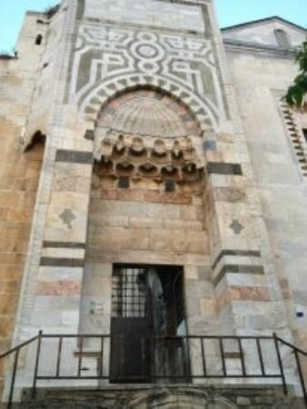 Isa Bey Mosque: Entrance