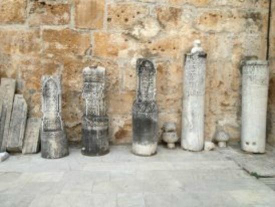 Isa Bey Mosque: Tombstones
