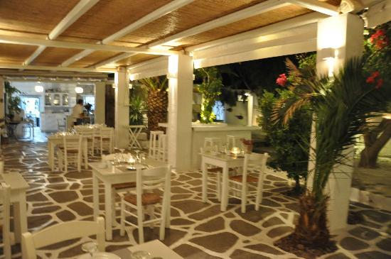 Siparos: Dining room