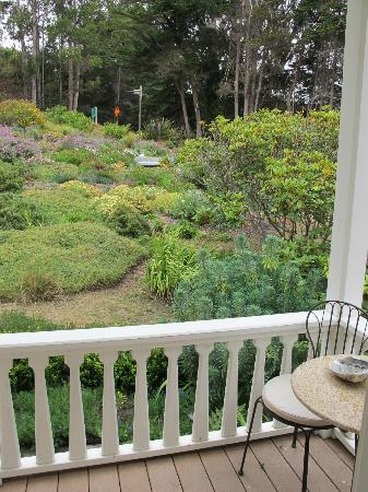 The Elk Cove Inn & Spa: view from our porch