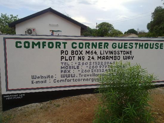 Comfort Corner Guest House : Norrth eastern side Wall fence