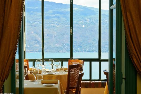 Boutique Hotel Villa Sostaga: View from the restaurant