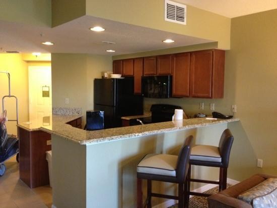 Wyndham Cypress Palms: kitchen 2012