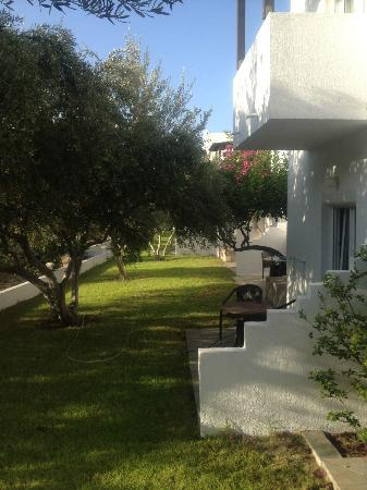 Santa Maria Village: выход из номера отеля
