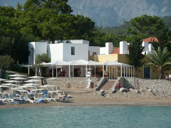 Club Med Kemer: le fitness...et la vue !!