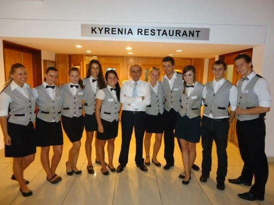 Dome Beach Hotel & Resort: Excellent Dome Beach Hotel Staff