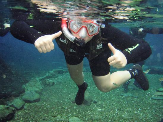 Бонито: Àrea de treinamento para a flutuação
