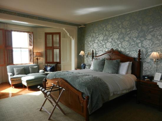 Castle Hill Inn: côté chambre