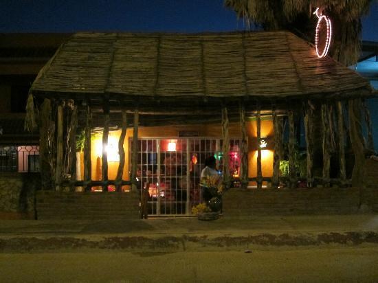 Maria Jimenez Restaurante Mexicano: From the street