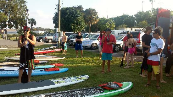 Urban Kai Stand-Up Paddleboarding : Your host, Mike