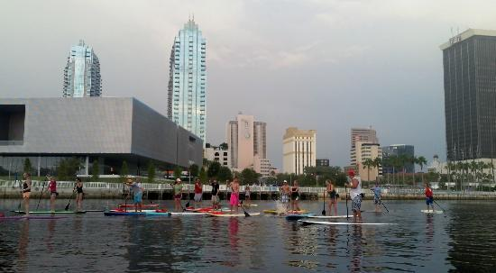 Urban Kai Stand-Up Paddleboarding: Destination tonight, Downtown Curtis Hixon Riverfront Park