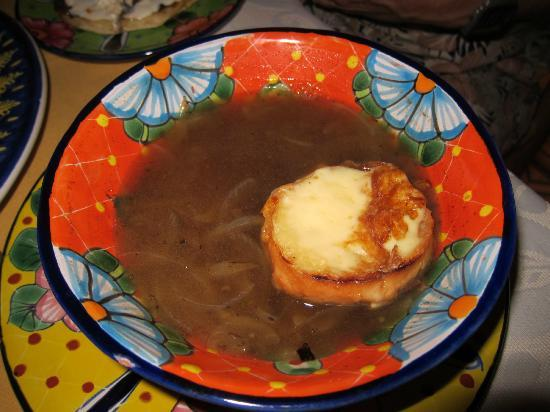 Maria Jimenez Restaurante Mexicano: Onion Soup