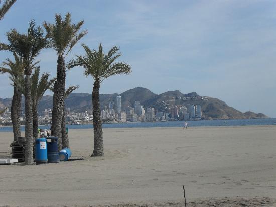 El Trebol: levante beach