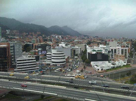 Hotel Andes Plaza: Vista desde la Habitación