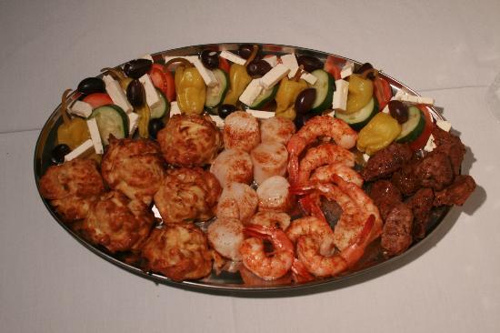 Romanos Restaurant : Hors D'oeuvres Platter