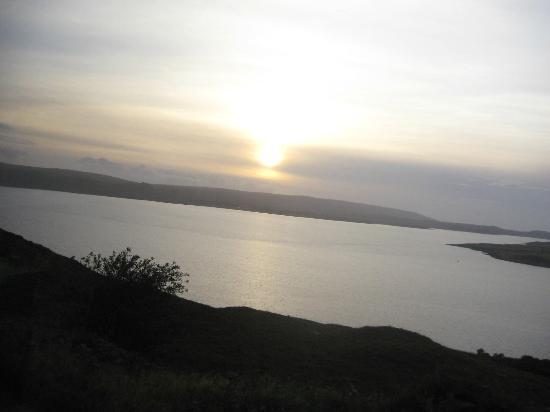 Bruach Ard B&B: A View of Lock Ewe Before Sunset