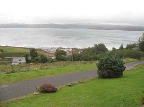Bruach Ard B&B: Loch Ewe on a Cloudy Day