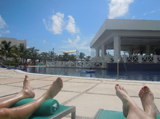 Secrets Silversands Riviera Cancun : One of many pool amazing views