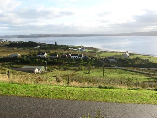 Bruach Ard B&B: Overlooking Loch Ewe from Bruach Ard