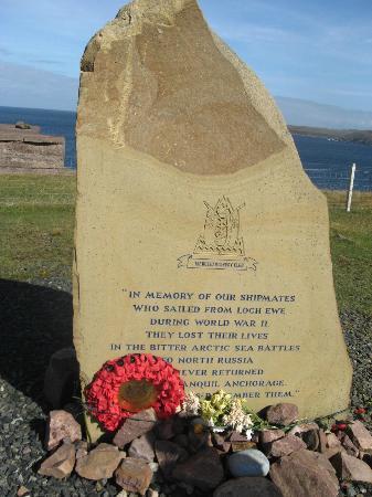 Bruach Ard B&B: WWII Memorial