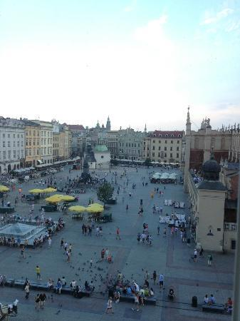 The Bonerowski Palace: View from our room
