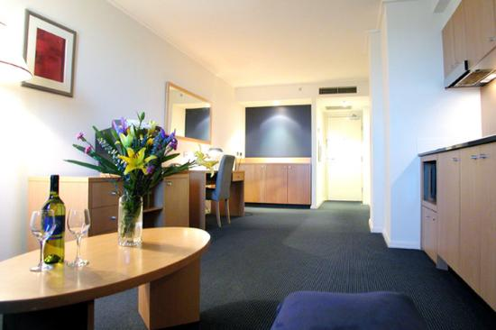 Parramatta Waldorf Apartment Hotel: Accommodation
