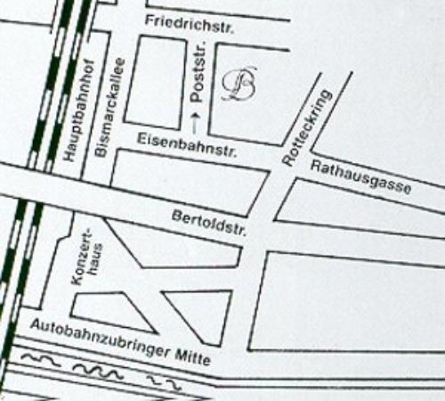 Hotel Barbara Garni: Map