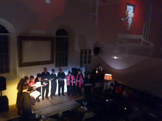 The Globe at Hay: choir night 12th oct