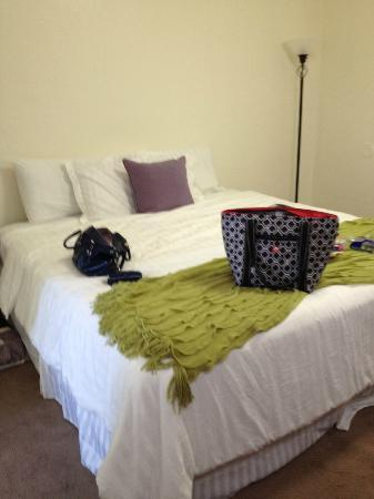 The Patriots Boutique Motel: King sized bed