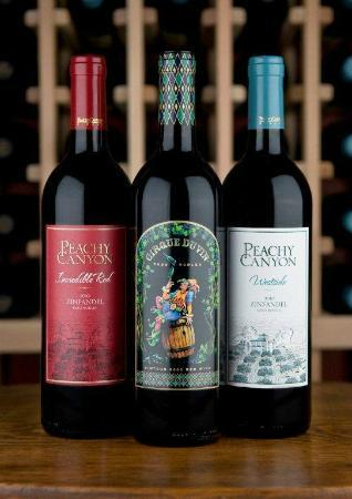 Peachy Canyon Winery: Our Trio