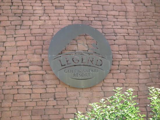 Legend Golf and Safari Resort: Hotel