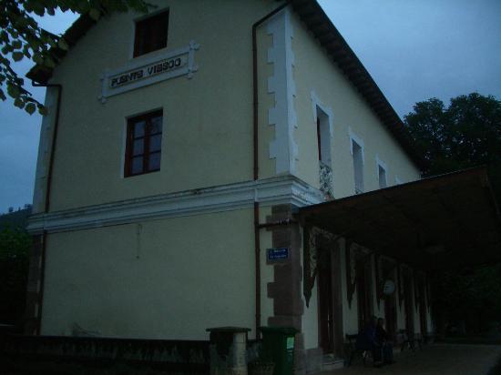 Gran Hotel Balneario Puente Viesgo: Antigua estación de ferrocarril