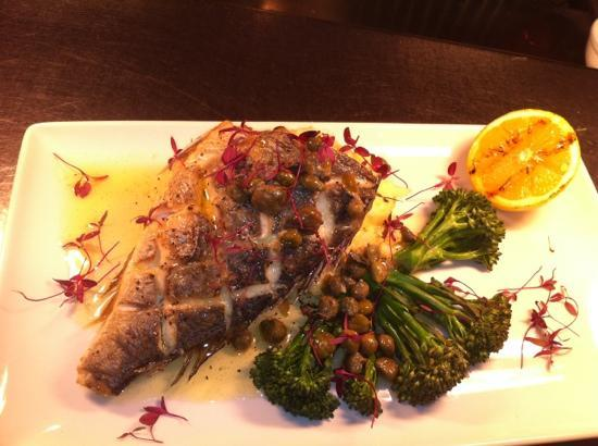 The Kings Arms: sea bream