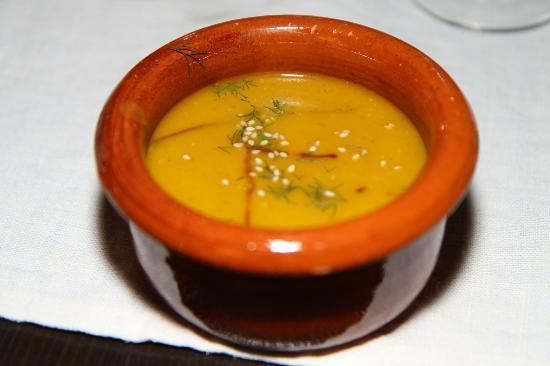 Ristorante Agrituristico Il Colibri: Delicous pumpkin soup