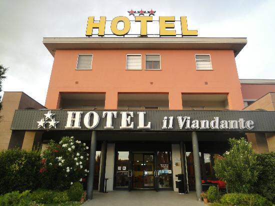 Hotel il Viandante : quel bel endroit