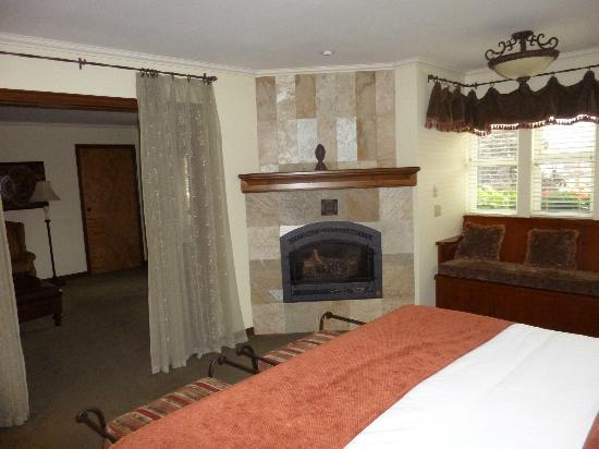 The Blackbird Lodge: Cozy and comfortable.