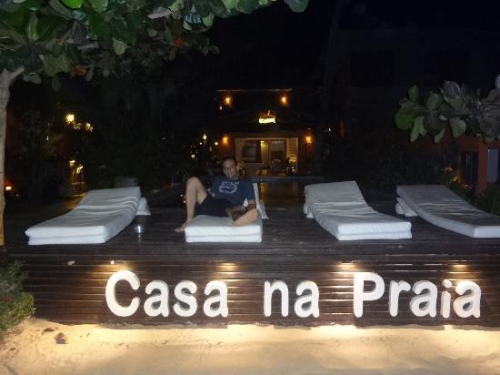 Casa na Praia: en el deck