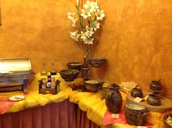 EA Hotel Jeleni dvur: Breakfastt area